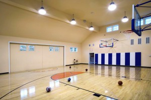 Residential-Indoor-Basketball-Court-With-HID-Lighting