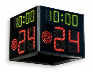 FIBA Basketball shot clock